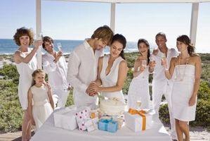Guide Etiquette pour cadeaux de mariage