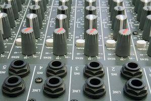 Comment définir limiteurs sur Pro Audio