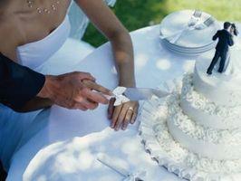 Comment implanter un gâteau de mariage