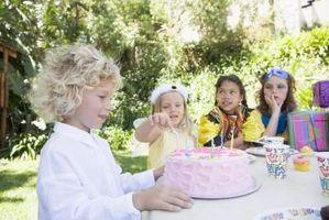 Jeux gâteau d'anniversaire pour les enfants