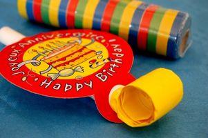 Idées anniversaire Décoration Enfants