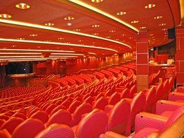 Les types de Aisle éclairage utilisé dans un Auditorium