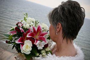 Bas Styles de cheveux de mariée