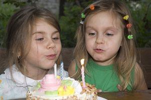 Snacks fête d'anniversaire pour les enfants