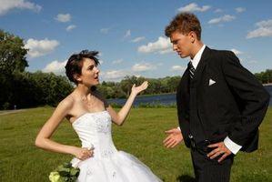 Les étapes de la cérémonie de mariage quand quelqu'un Objets du mariage?