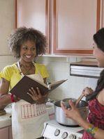 Instructions pour un livre de recettes de famille