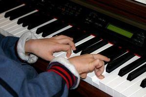 Comment apprendre le piano avec un ordinateur et clavier de piano
