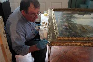 Comment nettoyer une peinture l 39 huile antique for Nettoyer une peinture a l huile