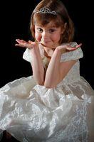 Enfant de demoiselle d'honneur Coiffures