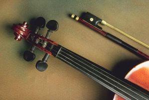 Comment Tune une violon avec une guitare