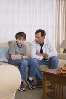 Comportement enfants montreront après avoir été avec un narcissique