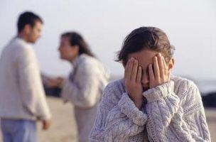 Ne Problèmes familiaux affectent les enfants?