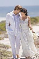 Comment décorer une réception de mariage de plage-thème
