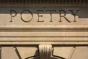 Quels éléments avez-vous besoin dans un poème?