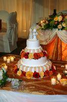 Des idées pour un gâteau de mariage à trois niveaux