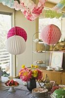 Comment faire Baby Shower Décorations Out de papier de soie