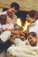 Comment Protégeons nos enfants autour de la cheminée
