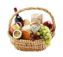 Indications pour faire des paniers de fruits