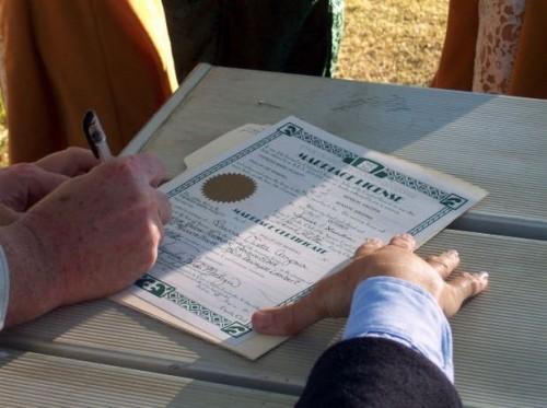 Informations sur les licences de mariage à Las Vegas