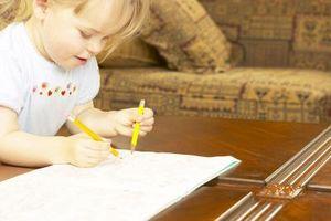 Comment arrêter un enfant de dessiner sur les murs