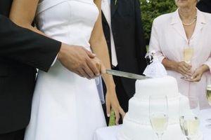 Quel type de givrage sur les gâteaux de mariage?