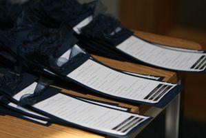 Comment la Parole, un programme de mariage pour une cérémonie qui comprend familles recomposées