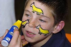 Comment faire face Patterns de dessin pour les enfants