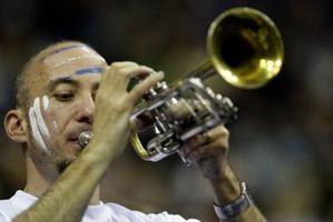 Quels sont les diapositives sur une trompette utilisé?