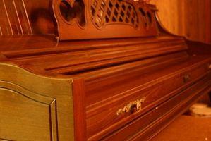 Américains Pianos Construit au début des années 1900