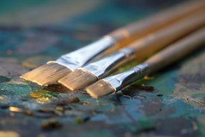 Techniques de pinceau pour peinture à l'huile