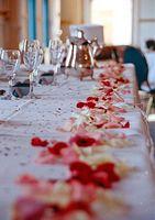 Comment décorer une table de réception