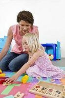 Comment aider les enfants pendant le réglage de garde d'enfants