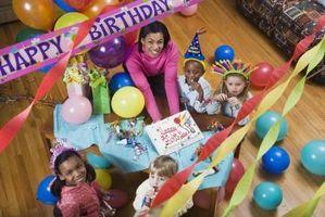 Comment décorer un gâteau d'anniversaire pour Chlldren