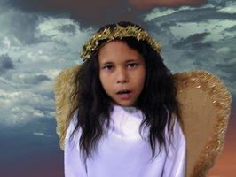 Angel With Costumes aile pour enfants