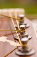 Comment cordes d'une guitare correctement
