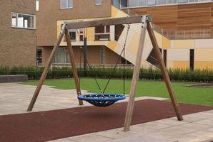 Balançoires unique en plein air pour les enfants