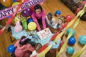 Endroits pour fête d'anniversaire d'un Deux-Year-Old