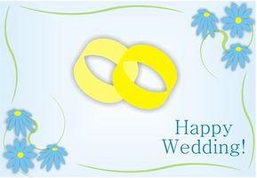 Notes aux Mettez sur les cartes de mariage lors de la signature