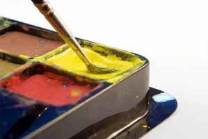 Comment faire de la peinture avec des ressources naturelles