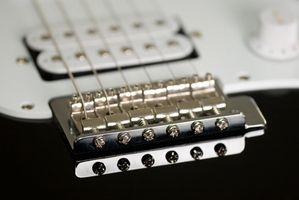Comment cordes d'une guitare Fender Squire