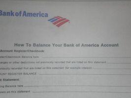 Comment écrire une lettre à une banque ce qui concerne une vérification manquante livre