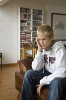 Les signes d'un adolescent en difficulté Avertissement