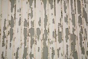 Comment réparer peinture écaillée d'un plafond texturé avec Dommages Eau