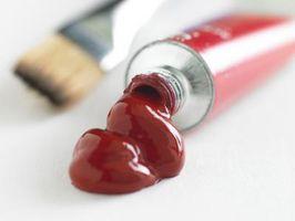 Techniques de peinture acrylique liquide