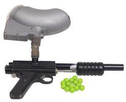 Comment raccorder un marqueur de Paintball à un compresseur d'air