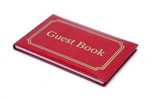 Comment faire un mariage unique Guest Book Alternative