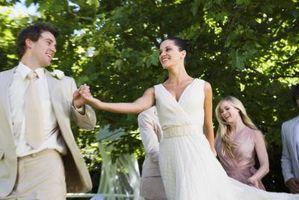 Beaux jardins pour les mariages
