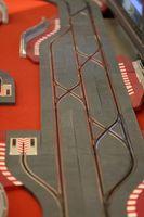 Comment construire des étagères mural pour Tracks Slot de voitures