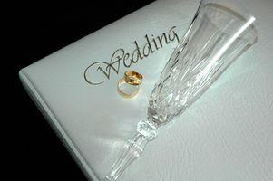 Liste des cadeaux traditionnels de mariage