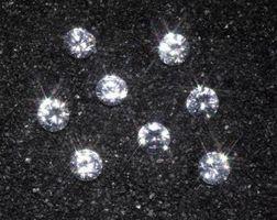 Idées de mariage de diamant à thème